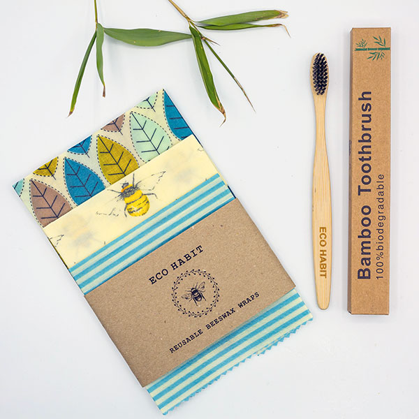 eco-habit-travel-pack-bamboo-toothbrush-beeswax-wraps