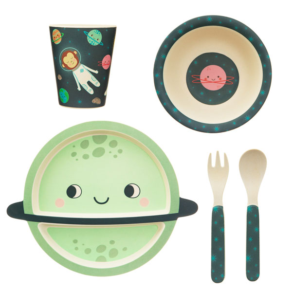 space-explorer-bamboo-childrens-tableware-set