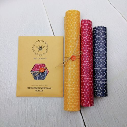 handmade beeswax food wraps